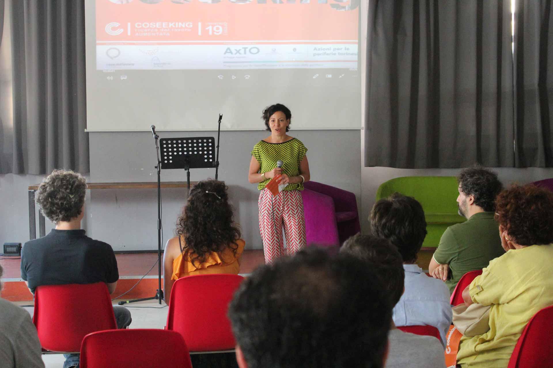 Casa del Lavoro - Coseeking® - Paola Pisano, Assessora all'Innovazione della Città di Torino